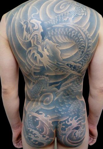 千葉 刺青 和彫り 龍36